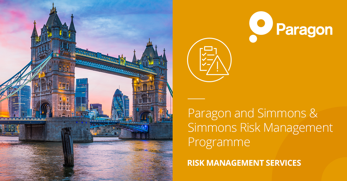 Paragon and Simmons & Simmons Risk Management Programme