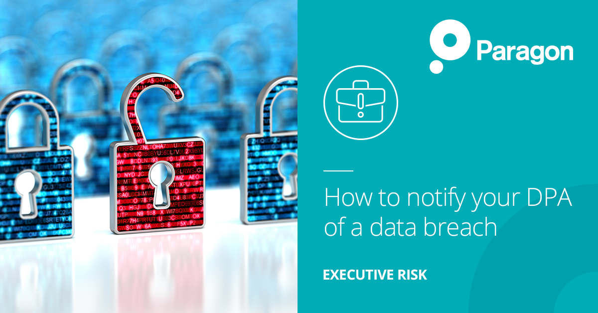 How to notify your DPA of a data breach