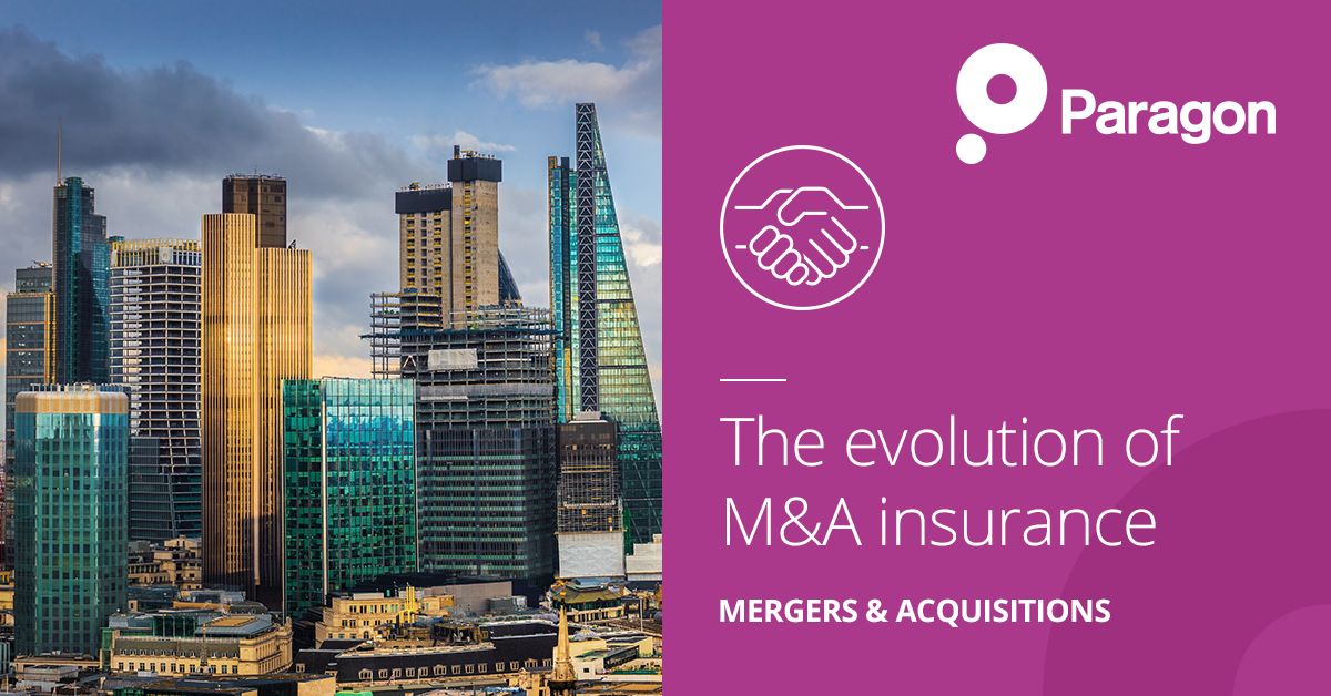 The evolution of M&A Insurance