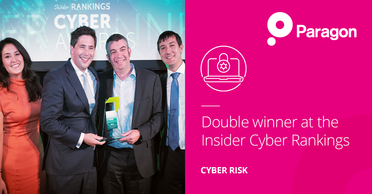 Double winner at the Insider Cyber Rankings Awards 2019