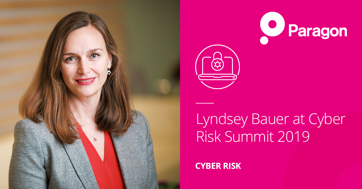 Lyndsey Bauer at Cyber Risk Summit 2019