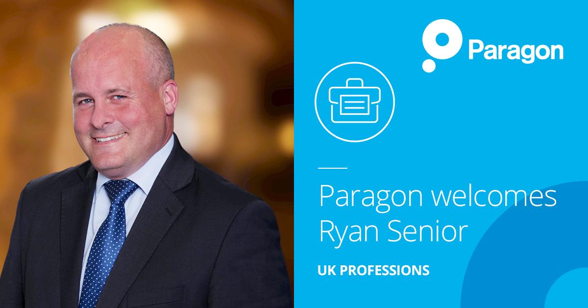 Paragon welcomes Ryan Senior