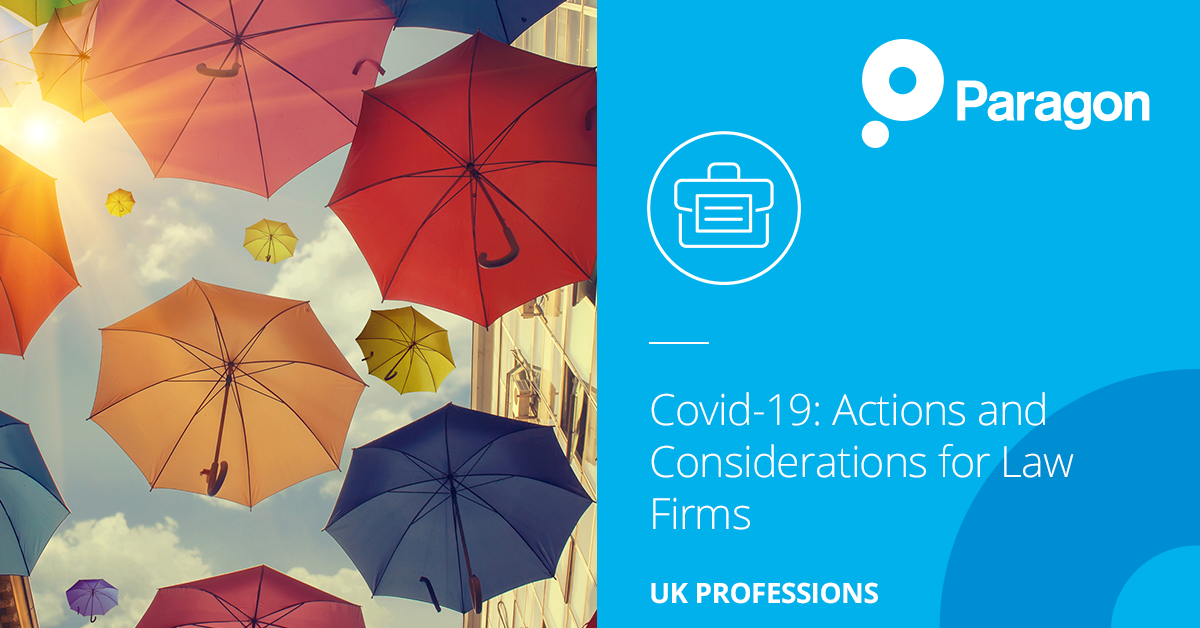 Covid-19: Actions and Considerations for Law Firms