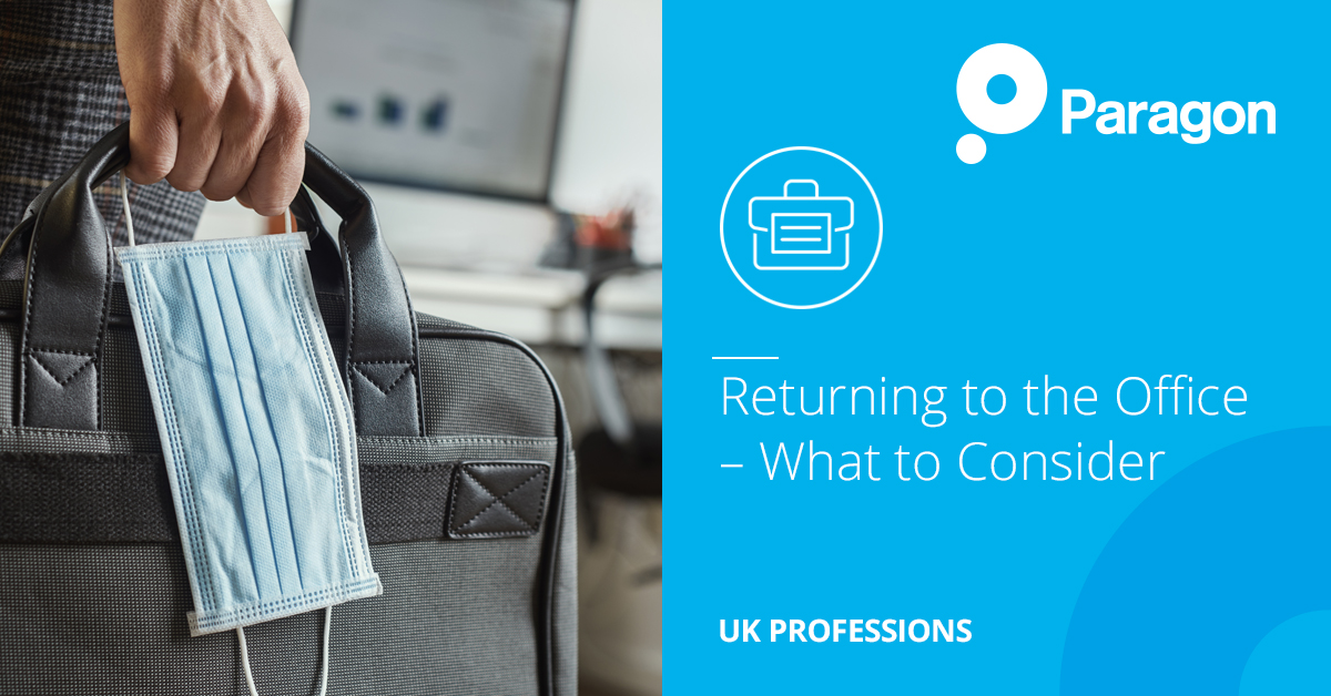 Returning to the Office – What to Consider