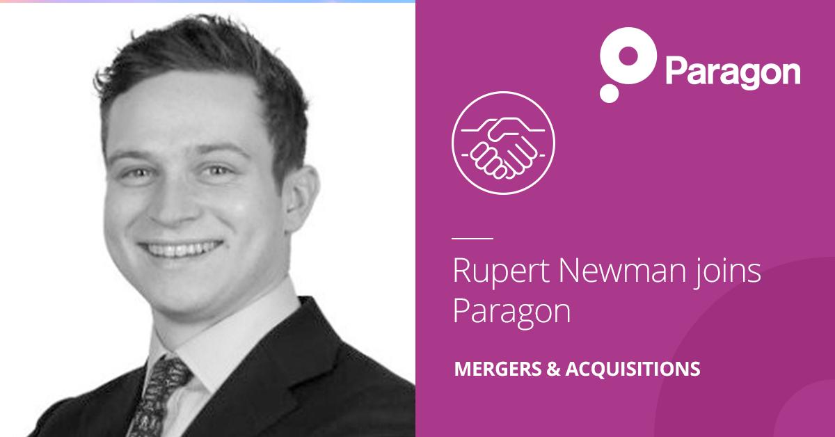 Appointment of Rupert Newman