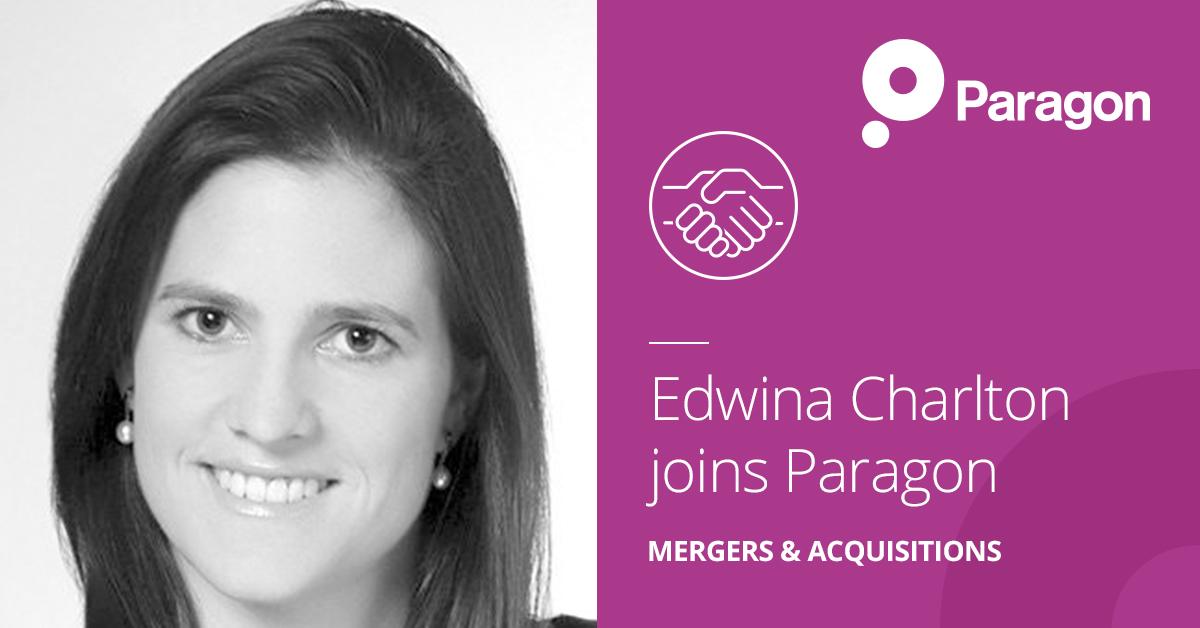 Edwina Charlton joins Paragon