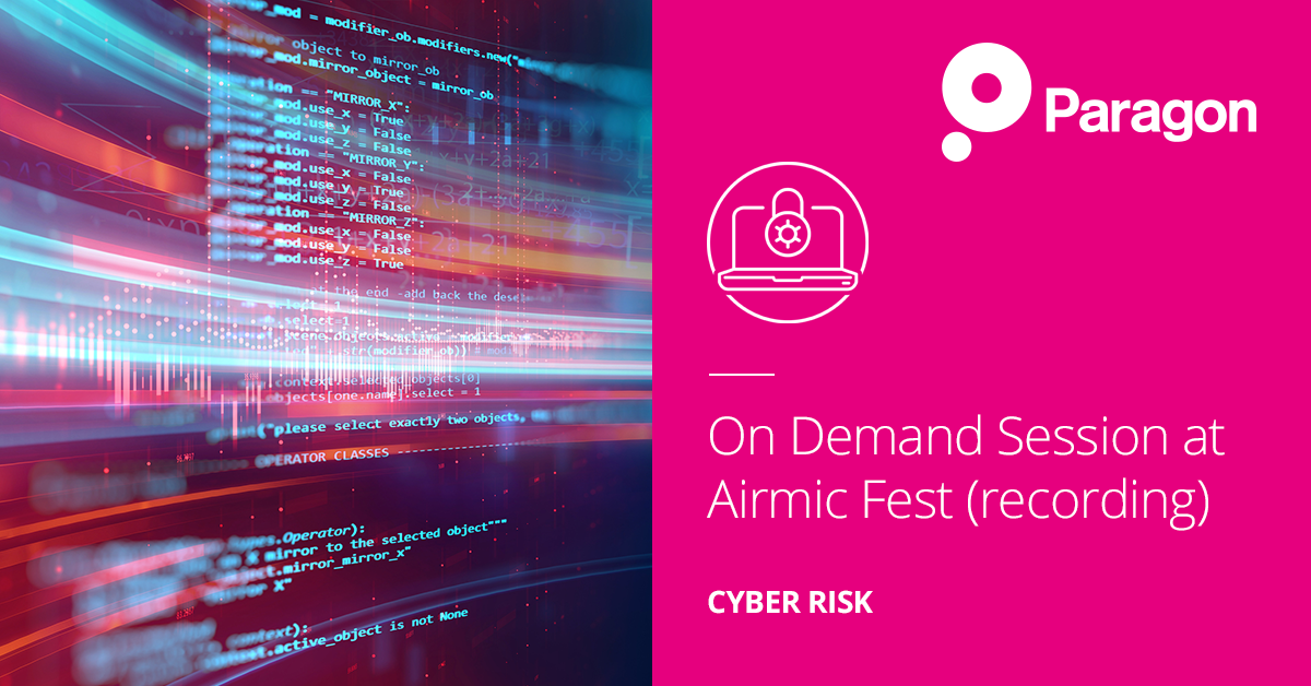 On Demand Session at Airmic Fest (recording)