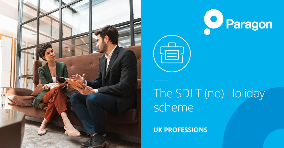 The SDLT (no) Holiday scheme – Managing the conveyancing risks involved