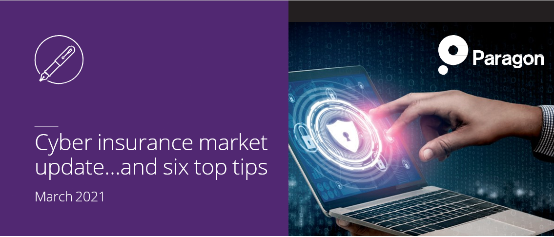 Cyber insurance market update…..and six top tips